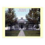 Biblioteca de Richards, Warrensburg, vintage de Nu Tarjetas Postales