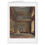 """Biblioteca de universidad de Eton, de la """"historia Tarjeta De Felicitación"""