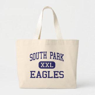 Biblioteca del centro de South Park Eagles Bolsa Lienzo
