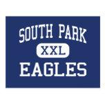 Biblioteca del centro de South Park Eagles Tarjeta Postal