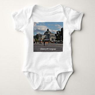 Biblioteca del Congreso en modelo de mosaico Body Para Bebé