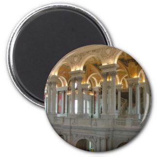 Biblioteca del Congreso Imán Redondo 5 Cm