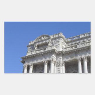 Biblioteca del Congreso Pegatina Rectangular