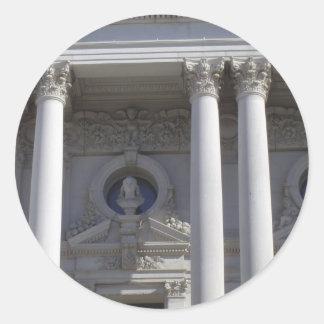 Biblioteca del Congreso Pegatina Redonda