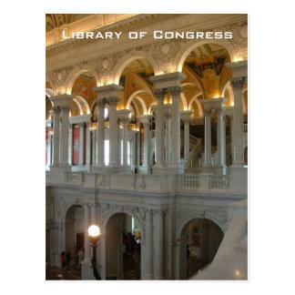 Biblioteca del Congreso Tarjeta Postal