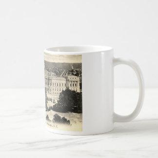 Biblioteca del Congreso, Washington DC, vintage Taza Clásica