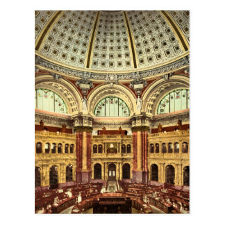 Biblioteca del Congreso Washington del sitio de Postales