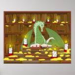 Biblioteca del dragón poster