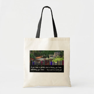 Biblioteca del jardín bolsas