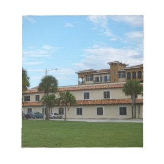 Biblioteca del pie Pierce la Florida Blocs De Notas