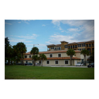 Biblioteca del pie Pierce la Florida Impresiones
