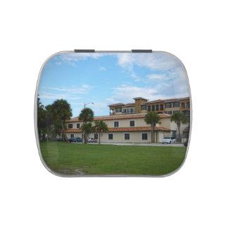 Biblioteca del pie Pierce la Florida Frascos De Caramelos