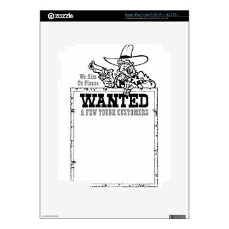 Biblioteca líquida 10 iPad 3 pegatinas skins