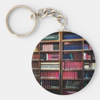 Biblioteca Llavero Redondo Tipo Pin