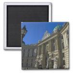 Biblioteca nacional, Hofburg (palacio imperial) Imán Cuadrado