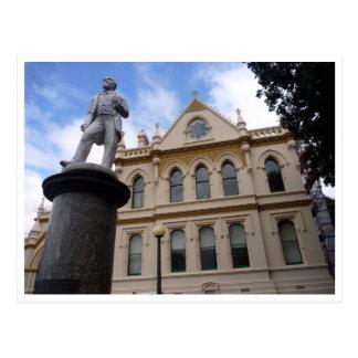 biblioteca parlamentaria de Wellington Tarjeta Postal