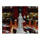 Biblioteca parlamentaria, Ottawa, Ontario, Canadá Postal