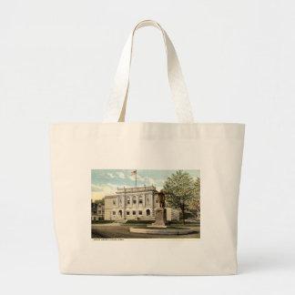 Biblioteca pública Adams Massachusetts 1917 Bolsa De Mano