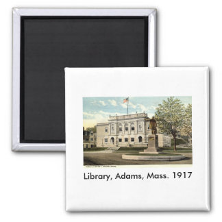 Biblioteca pública, Adams, Massachusetts 1917 Iman De Nevera