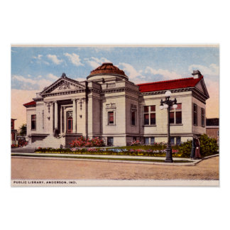 Biblioteca pública de Anderson Indiana Impresiones