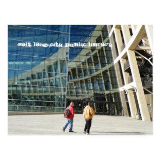 Biblioteca pública de Salt Lake City Tarjetas Postales