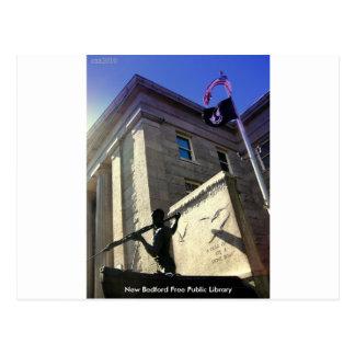 Biblioteca pública libre de New Bedford Tarjeta Postal