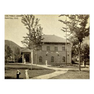 Biblioteca pública, Manitou, Colorado Postales