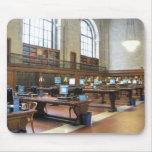 Biblioteca pública Mousepad de NY Alfombrillas De Ratón