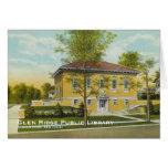 Biblioteca pública Notecard de Ridge de la cañada Felicitacion