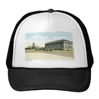 Biblioteca pública y capitolio del estado, Denver, Gorras De Camionero