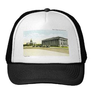 Biblioteca pública y capitolio del estado, Denver, Gorro