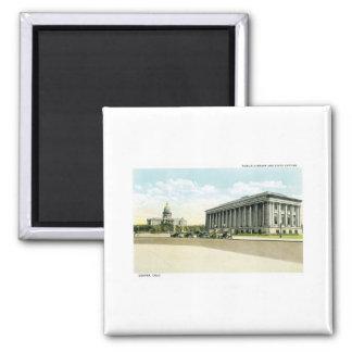 Biblioteca pública y capitolio del estado, Denver, Imán Cuadrado