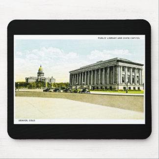 Biblioteca pública y capitolio del estado, Denver, Mouse Pads