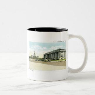 Biblioteca pública y capitolio del estado, Denver, Taza Dos Tonos