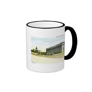 Biblioteca pública y capitolio del estado, Denver, Taza A Dos Colores