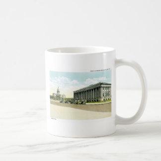 Biblioteca pública y capitolio del estado, Denver, Taza Básica Blanca