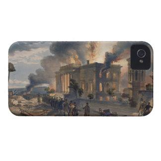 Biblioteca pública y templo de los vientos, placa Case-Mate iPhone 4 fundas