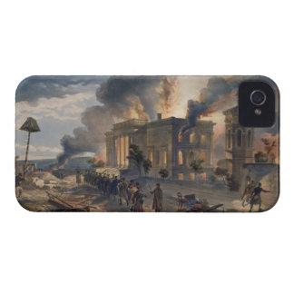Biblioteca pública y templo de los vientos, placa Case-Mate iPhone 4 carcasa