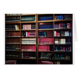 Biblioteca Tarjeta De Felicitación