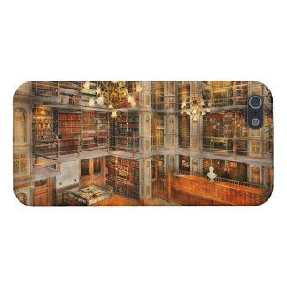 Biblioteca - una obra clásica literaria 1905 iPhone 5 carcasa