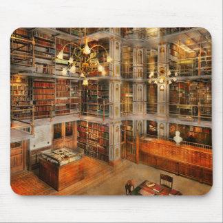 Biblioteca - una obra clásica literaria 1905 tapete de ratones