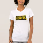 Bibliotecario camorrista camisetas