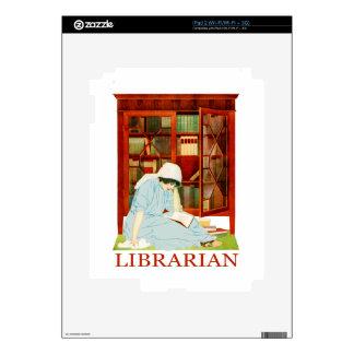 Bibliotecario de Coles Phillips Skin Para El iPad 2