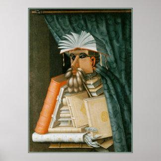 Bibliotecario de Giuseppe Arcimboldo Impresiones