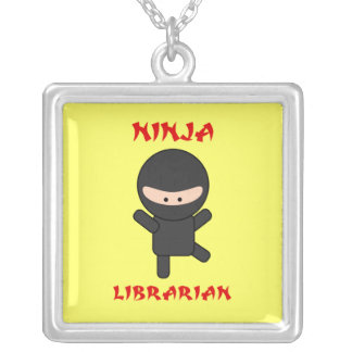 Bibliotecario de Ninja Joyería