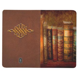 Bibliotecario - escritor - libros anticuarios cuaderno grapado