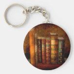 Bibliotecario - escritor - libros anticuarios llavero