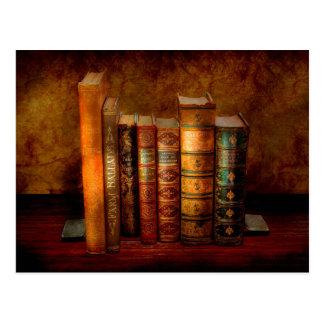 Bibliotecario - escritor - libros anticuarios postal