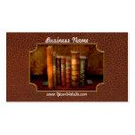 Bibliotecario - escritor - libros anticuarios tarjetas de visita