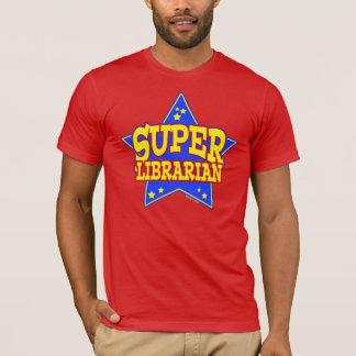 Bibliotecario estupendo de la estrella playera
